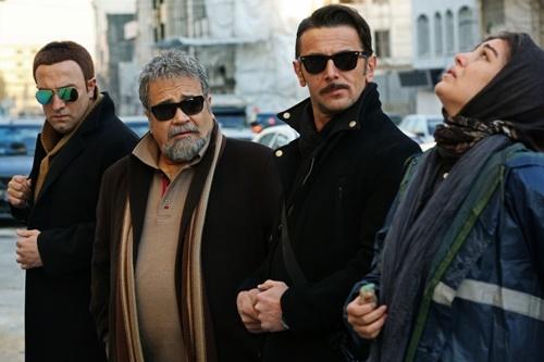 مجید صالحی و امین حیایی در فیلم کارگردان پیوسته به شبکه جم