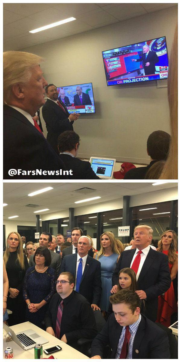 ترامپ و خانوادهاش