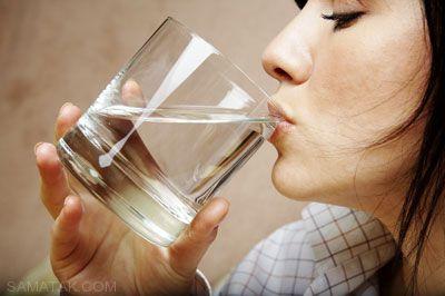 خوردن آب