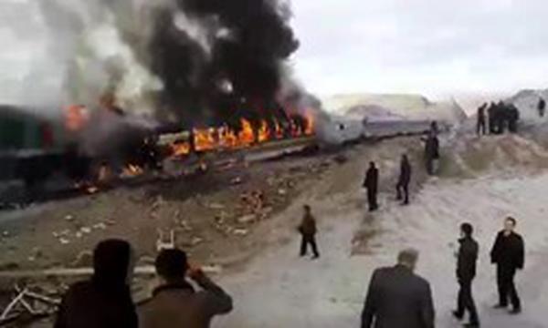 تعیین هویت ۸ نفر از اجساد حادثه قطار تبریز – مشهد +اسامی