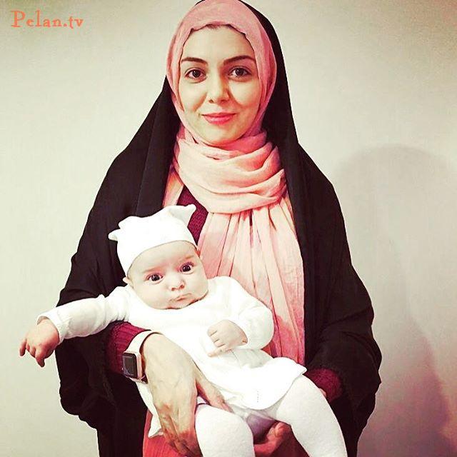 آزاده نامداری مجری تلویزیون بالاخره تصویر دخترش را منتشر کرد