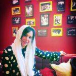 فلور نظری بازیگر 47 ساله کشورمان در یک کافی شاپ ایتالیایی در اروپا