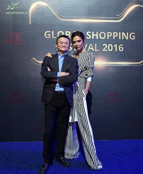 دیوید بکام و همسرش
