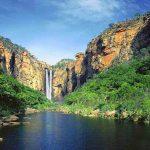 مرگ یک گردشگر زن در آبشار راین کرمان