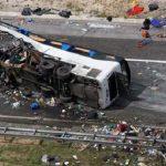 10 ورزشکار روسی هنگام برگشت از مسابقات در سانحه رانندگی کشته شدند