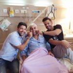 سه خواننده پاپ در بیمارستان , پایان شیمی درمانی خواننده محبوب کشورمان