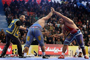 شکست قویترین مرد ایران مقابل پهلوان ایران!
