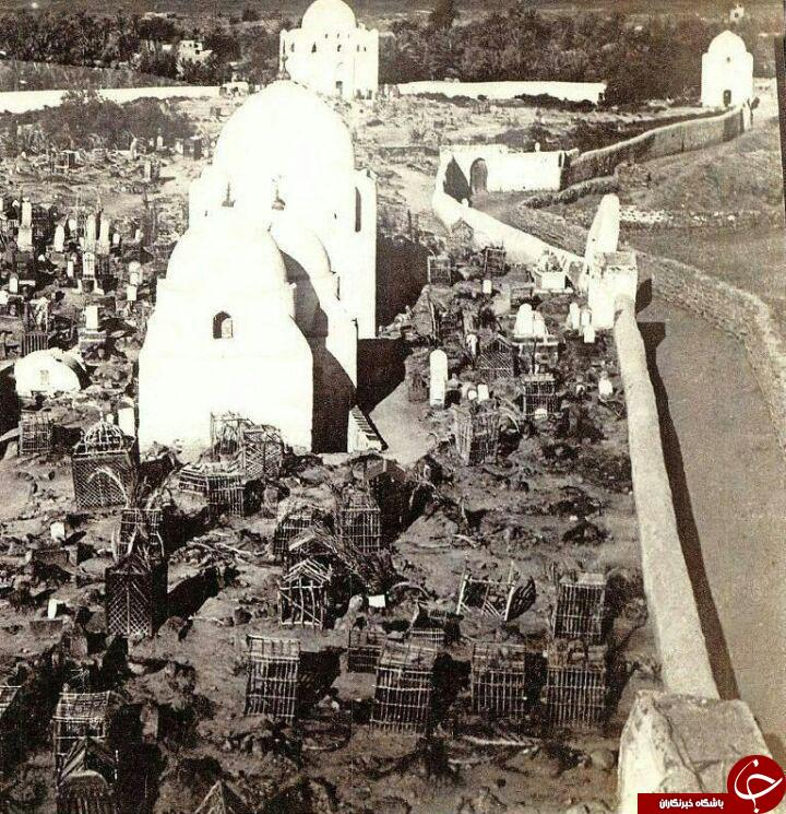 قديمي ترين عکس از قبرستان بقيه