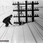 بارش حیرتانگیز برف در سیبری روسیه سردترین نقطهٔ مسکونی زمین!