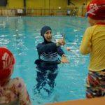 الزام دختران محجبه در آلمان به شنای مختلط توسط دادگاه عالی آلمان