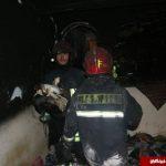 جهیزیه عروس مشهدی در آتش سوخت , زن باردار نجات پیدا کرد