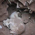 کشف گور قدیمی در تبریز با بقایای استخوان های اجساد انسان