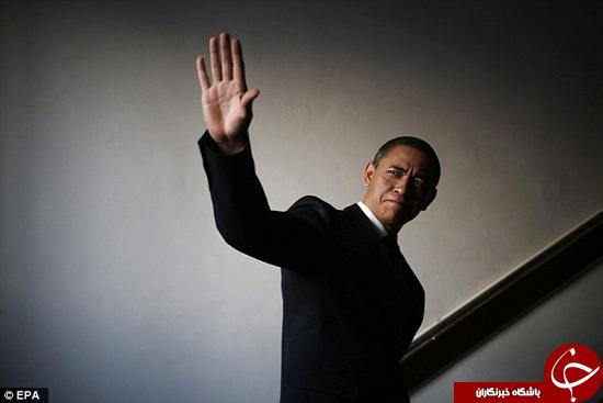 چینیها اوباما را هم تکثیر کردند! اوبامای چینی در برنامه زنده تلویزیونی استعدادیابی