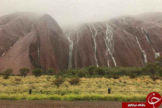 منظره زیبای طوفان خطرناک استرالیا