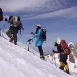 سقوط بانوی کوهنورد 40 ساله از ارتفاعات منطقه کوهستانی سوادکوه