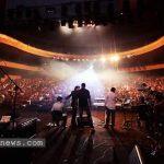 کنسرت قم قربانی گرفت , عکسهای حاشیه ساز که از این کنسرت