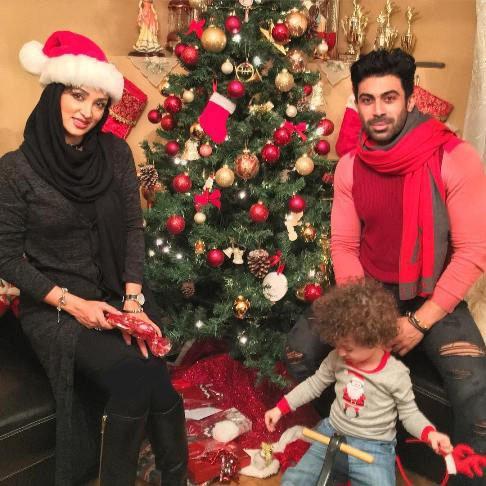 جشن روناک یونسی و همسرش