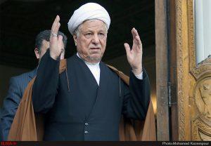مراسم ترحیم هاشمی در حسینیه امام خمینی (ره)