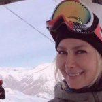 عکس جالب آنا نعمتی در لباس اسکی !