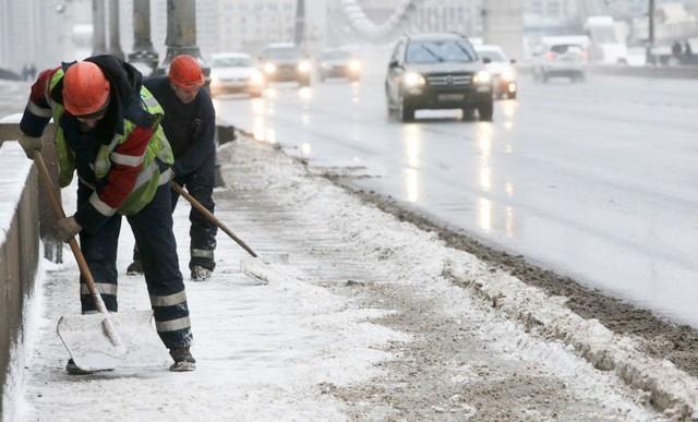 بارش برف و کولاک شدید در روسیه