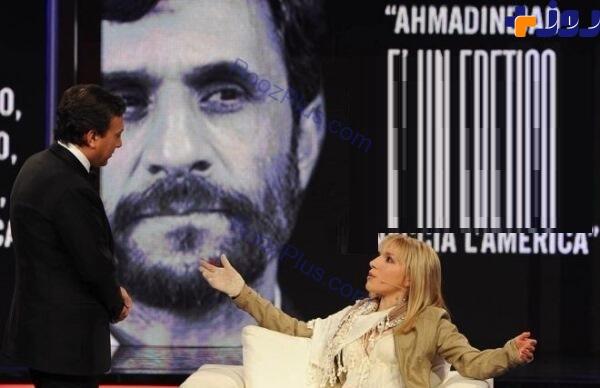 عشق دختر ایتالیایی به احمدی نژاد