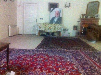 اتاق آیت الله هاشمی رفسنجانی
