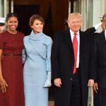 این حالات چهره میشل اوباما در مراسم تحلیف ترامپ، سوژه داغ فضای مجازی