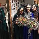 کنسرت اروپایی خواننده زن با کشف حجاب!