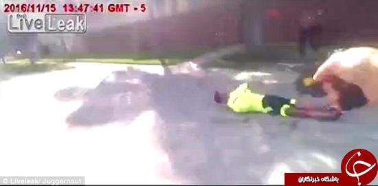 لحظه دستگیری یک چاقوکش