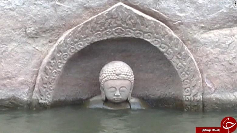 کشف مجسمه بودا