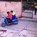 این دزدان احمق حین فرار سر از اداره پلیس درآوردند