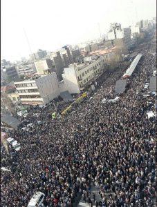 تشییع پیکر آیت الله هاشمی رفسنجانی|جمعیت میلیونی در مراسم(+عکس)