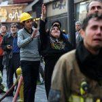 کشف دو نیمتنه از آتشنشانان