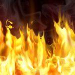 مرگ این جوان ۲۵ ساله در آتش