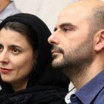 لیلا حاتمی و علی مصفا در کنار فرزندان شان مانی و عسل
