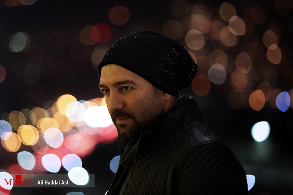 مجید صالحی با ژست های متفاوت در کاخ جشنواره فیلم فجر