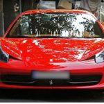 خودرویی با قیمت حدود ۸. ۵ میلیارد تومان درخیابان های تهران !