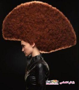 جهانی شدن مدل مو های خاص زن آرایشگر!