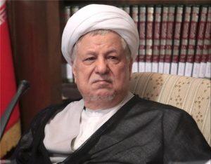 مجسمه آیتالله هاشمی رفسنجانی در تهران