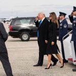 ترامپ و خانواده اش در مراسم تحلیف در واشنگتن