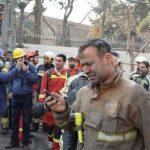 ساختمان پلاسکو ریزش کرد|تعدادی آتش نشان کشته شدند+ تصاویر