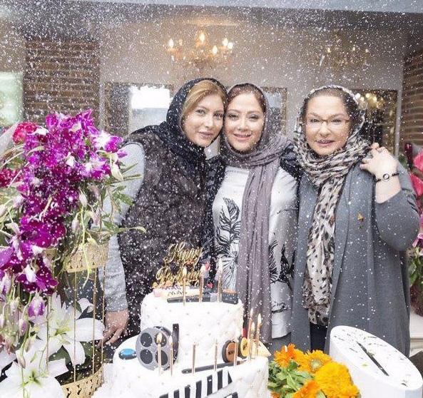 جشن تولد مریم سلطانی در کنار دوستان بازیگر