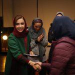 هنرپیشه سینما در اردوی بانک سرمایه