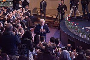 حضور جواد ظریف در اختتامیه جشنواره فجر
