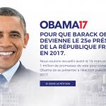 باراک اوباما؛ نامزد انتخابات ریاست جمهوری 2017 فرانسه؟!