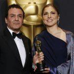 پوشش جالب انوشه انصاری در مراسم اسکار