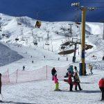 در پیست اسکی دربندسر تصور میکنید اینجا اروپا یا آمریکاست!