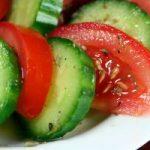 مصرف همزمان خیار و گوجه فرنگی اکیدا ممنوع!!
