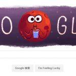 تصویر متحرک لوگو گوگل به مناسبت کشف ۷ سیاره شبیه زمین