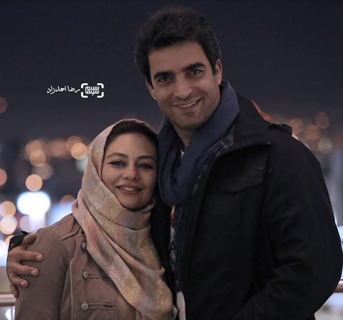 یکتا ناصر و همسرش منوچهر هادی